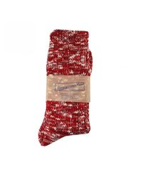 Anonymous Ism Red Socks for men