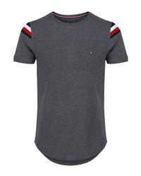 Tommy Hilfiger - Gray Men's Donny Crew Neck T-shirt for Men - Lyst
