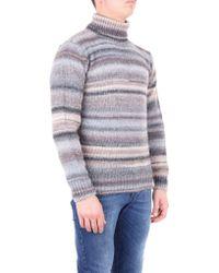 Altea Sweater Men Gray And Beige for men