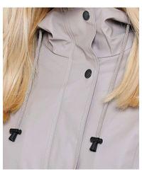 Ilse Jacobsen Gray Rain70 Belted Mac