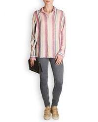Rails Pink Sydney Stripe Shirt