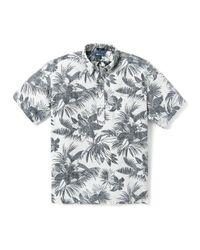 Reyn Spooner Multicolor Tigerlily Burst Pullover Shirt Marshmallow for men