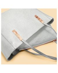 Ted Baker - Metallic Paigie Tote Bag - Lyst