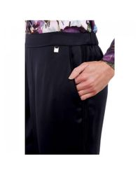 Ted Baker Blue Ulaah Satin Tapered jogger