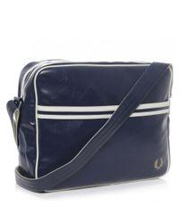 Fred Perry Black Classic Shoulder Bag for men