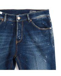 PT01 Men's Tj05b20destx15me12 Blue Cotton Jeans for men