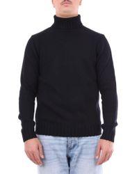 Heritage Knitwear High Neck Men Black for men