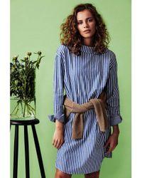 Numph Blue Iseabetta Dress