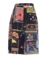 Vivetta Multicolor Moodboard Print Shorts