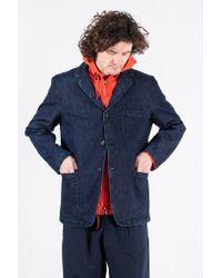 Universal Works Blue Jack / Three Button Jacket / Indigo for men