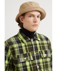 WOOD WOOD Franco Green Check Shirt
