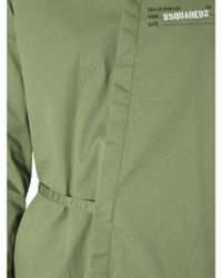 DSquared² Green Military Shirt