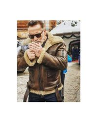 Matchless M47 Tank Jacket Colour: Brown for men
