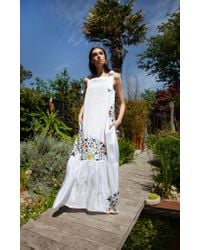Tallulah & Hope Martha Dress White Embroidered