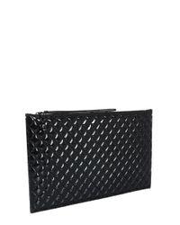 McQ Alexander McQueen Black Zip Pouch