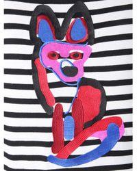 Maison Kitsuné Multicolor Acide Fox T-shirt