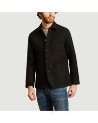 Universal Works Buriel Woolen Jacket Black for men