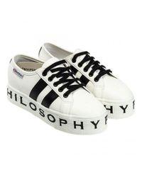 Philosophy Di Lorenzo Serafini Multicolor Philosophy Superga Sneakers