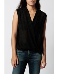 Azalea | Black Teigan Jaquard Top | Lyst
