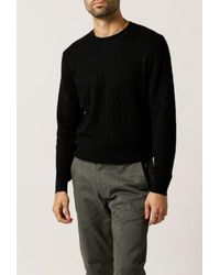 A.P.C. | Black Pull Pavel Sweater for Men | Lyst
