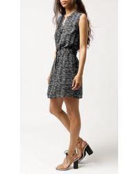 Sessun - Black Gualala Tie Waist Dress - Lyst