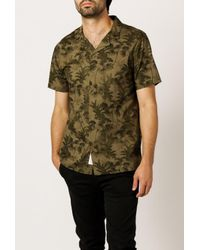 Native Youth - Green Aldeburgh Shirt for Men - Lyst