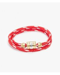 Miansai - Metallic Casing Bracelet - Lyst
