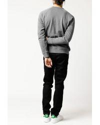 Obey - Gray Lofty Crew Sweatshirt for Men - Lyst