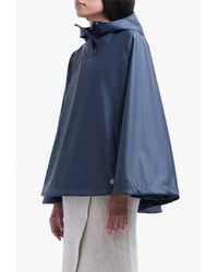Herschel Supply Co. - Blue Poncho Poly Jacket - Lyst