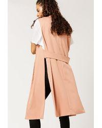 Azalea - Multicolor Simple Long Vest - Lyst