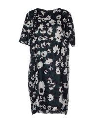Marni | Green Short Dress | Lyst