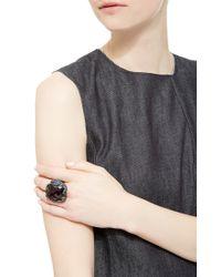Lydia Courteille Multicolor One Of A Kind Vendanges Tardives Ring
