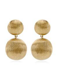 Marco Bicego - Metallic Africa Double Drop Earrings - Lyst