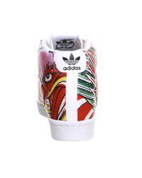 Adidas Originals - White Superstar Up W - Lyst