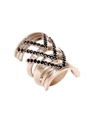House of Harlow 1960 | Pink Chevron Ring | Lyst
