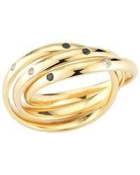 Elizabeth and James | Metallic Mila Ring | Lyst