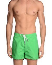Sundek - Green Swimming Trunk for Men - Lyst