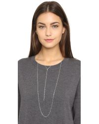 Jennifer Zeuner | Metallic Drew Necklace | Lyst