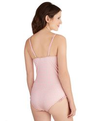 Shark Tm - Pink Wait and Whimsy One-piece Swimsuit - Lyst