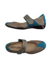 Gianna Meliani - Natural Ballet Flats - Lyst