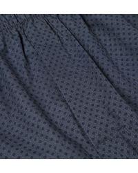 Sunspel | Blue Men's Long-staple Cotton Seasonal Boxer Short for Men | Lyst