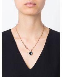 Mawi Blue 'sapphire Slogan' Necklace