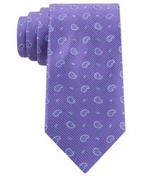 Michael Kors - Purple Pine Neat Tie for Men - Lyst