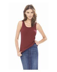 Express | Purple One Eleven Ribbed Scoop Neck Tank | Lyst