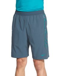 Nike | Blue 'vapor' Water Resistant Hydra Void Training Shorts for Men | Lyst