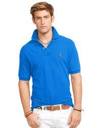 Polo Ralph Lauren | Blue Classic-Fit Mesh Polo Shirt for Men | Lyst