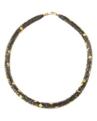 Peppercotton | Gray Emoji Necklace | Lyst