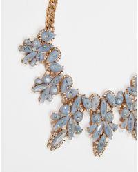 ALDO | Metallic Glaodien Statement Necklace | Lyst
