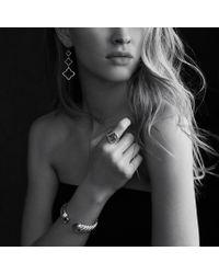 David Yurman - Metallic Quatréfoil Tripledrop Earrings - Lyst