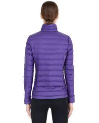 Patagonia Purple Down Sweater Jacket